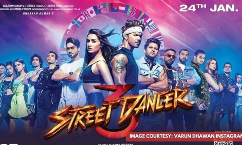 Varun Dhawan's latest movie Street Dancer 3D Leaked by Movierulez Online For Free Download in HD & FHD