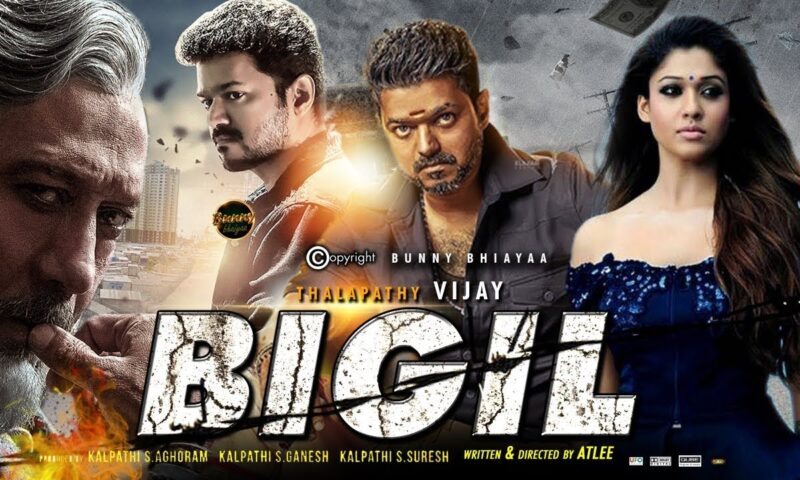 Bigil Full Movie Leaked Online by Movierulez in HD, 720p, 1080p