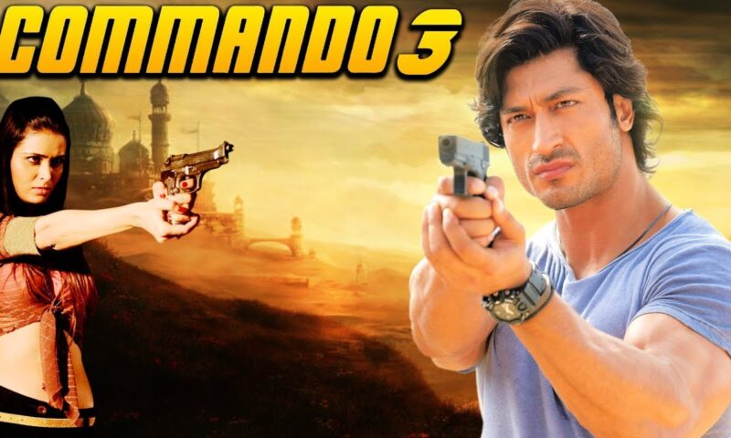 Vidyut Jammwal and Adah Sharma Bollywood Film Commando 3 Leaked Online By Piracy Website Movierulez