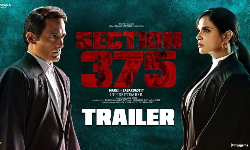 Akshaye Khanna's Latest Movie In Trouble – Section 375 Full Movie Leaked Online By Movierulez in HD, 720p, 1080p